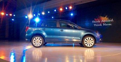 Volkswagen проведет официальную презентацию нового седана Ameo
