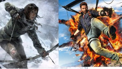 Square Enix довольна продажами Rise of the Tomb Raider и Just Cause 3