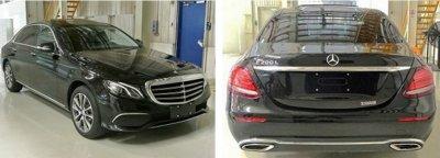 Mercedes презентовал для китайского рынка удлиненную версию нового поколения E-Class