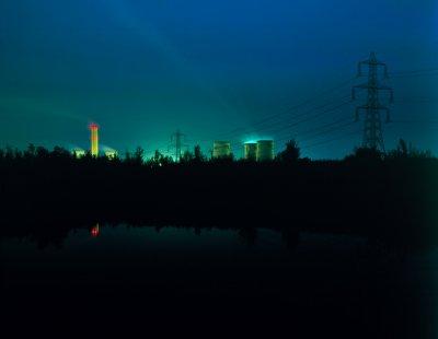 В британском Дидкоте прогремел взрыв на электростанции