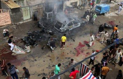 МИД РФ осудил вчерашние теракты в столице Багдаде