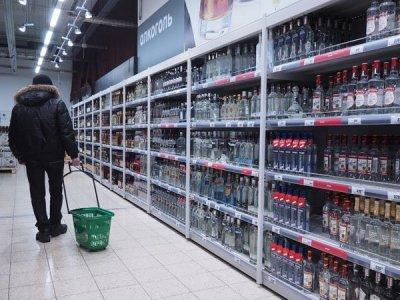 В Москве сократились объемы продажи водки