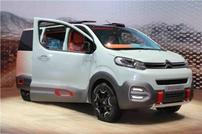 В Женеве французы представили минивэн Citroen SpaceTourer