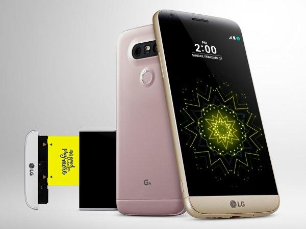Продажи нового LG G5 начнутся 8 апреля
