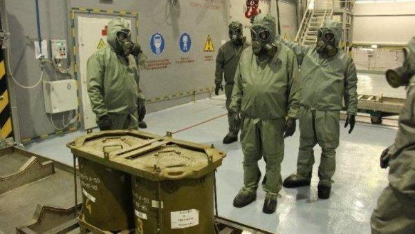 В России уничтожены почти все запасы химического оружия