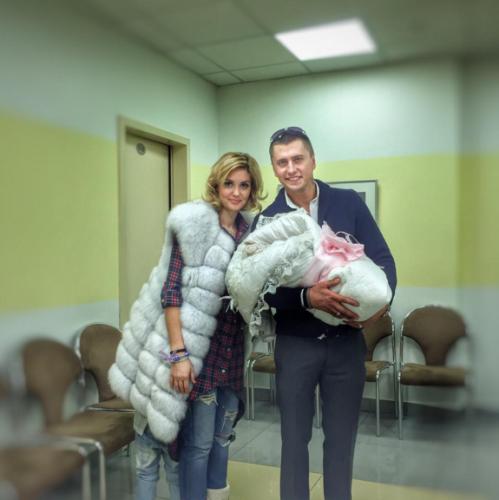 Павел Прилучный и Агата Муцениеце назвали дочку редким именем