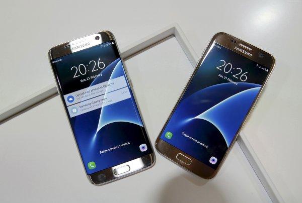 В смартфонах Samsung S7 и S7 Edge найдена скрытая опция масштабирования