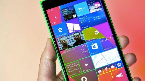 Смартфоны с 512 МБ ОЗУ не могут быть обновлены до Windows 10 Mobile