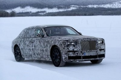 Новый Rolls-Royce Phantom сохранит внешность предшественника