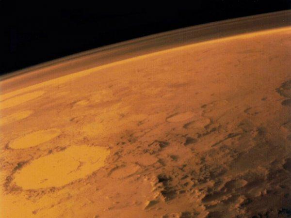 NASA: Океан на Марсе мог возникнуть из-за астероидов