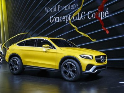 Mercedes-Benz может создать кабриолет-кроссовер на базе GLC Coupe