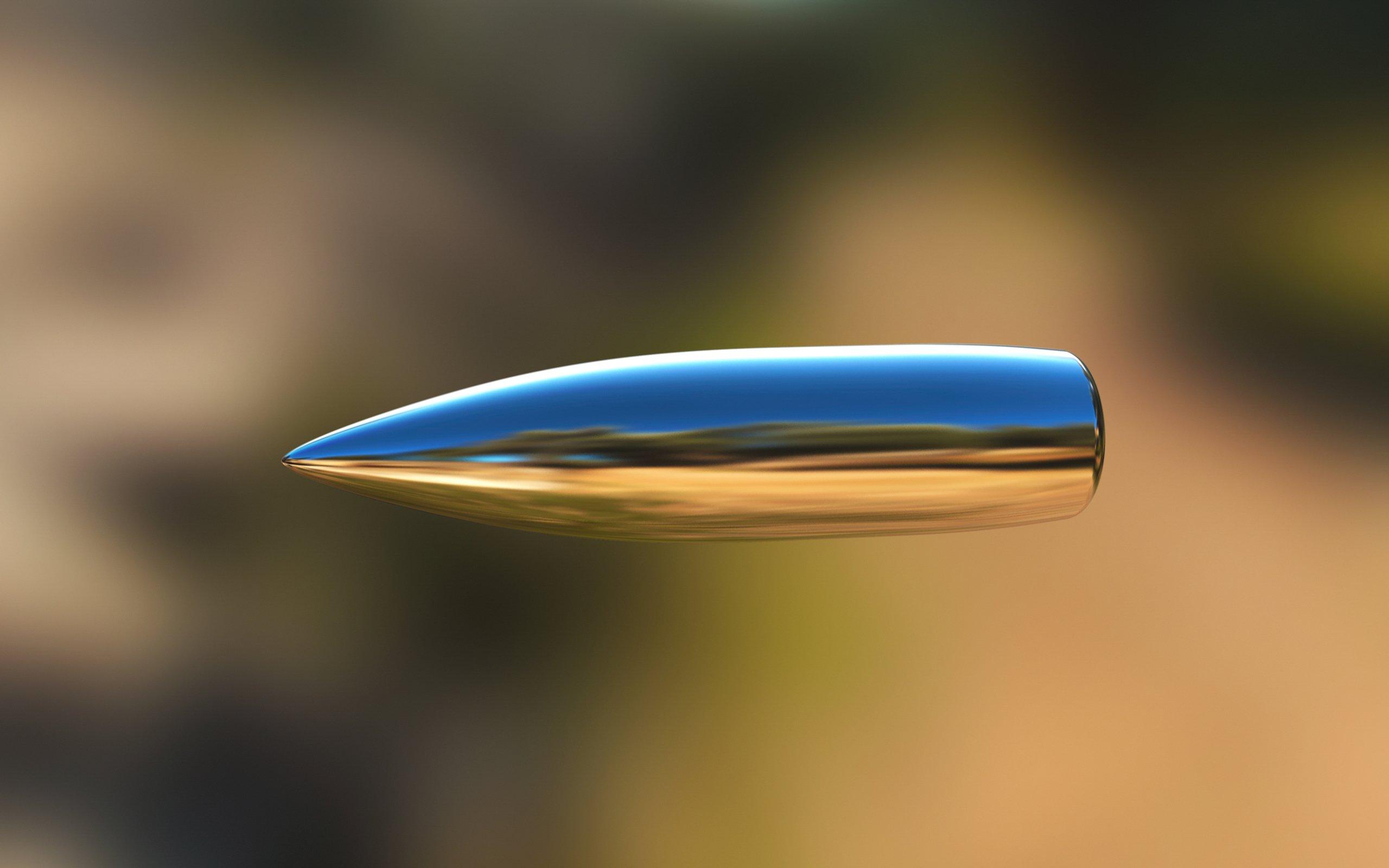Картинка летящая пуля