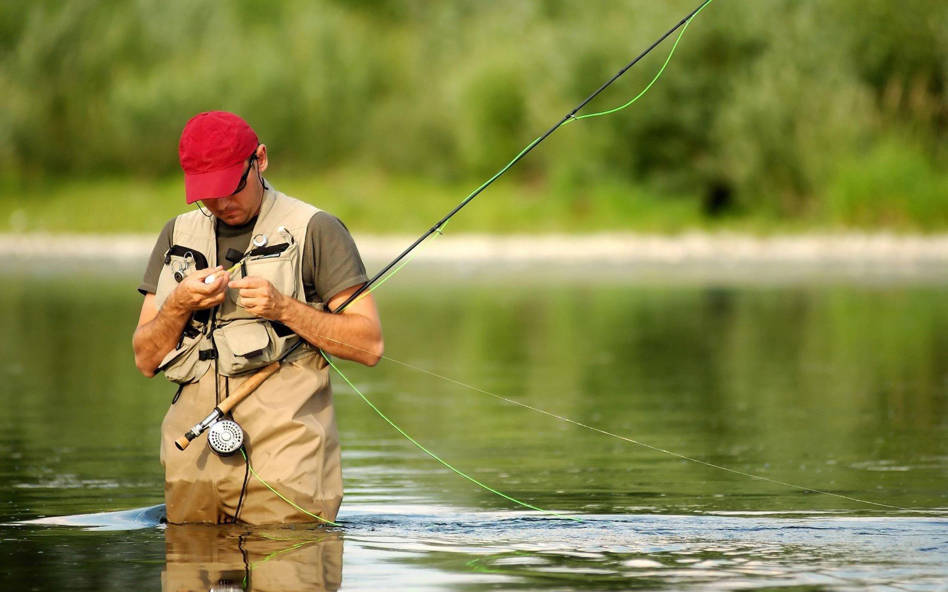 удочка для ловли красной рыбы