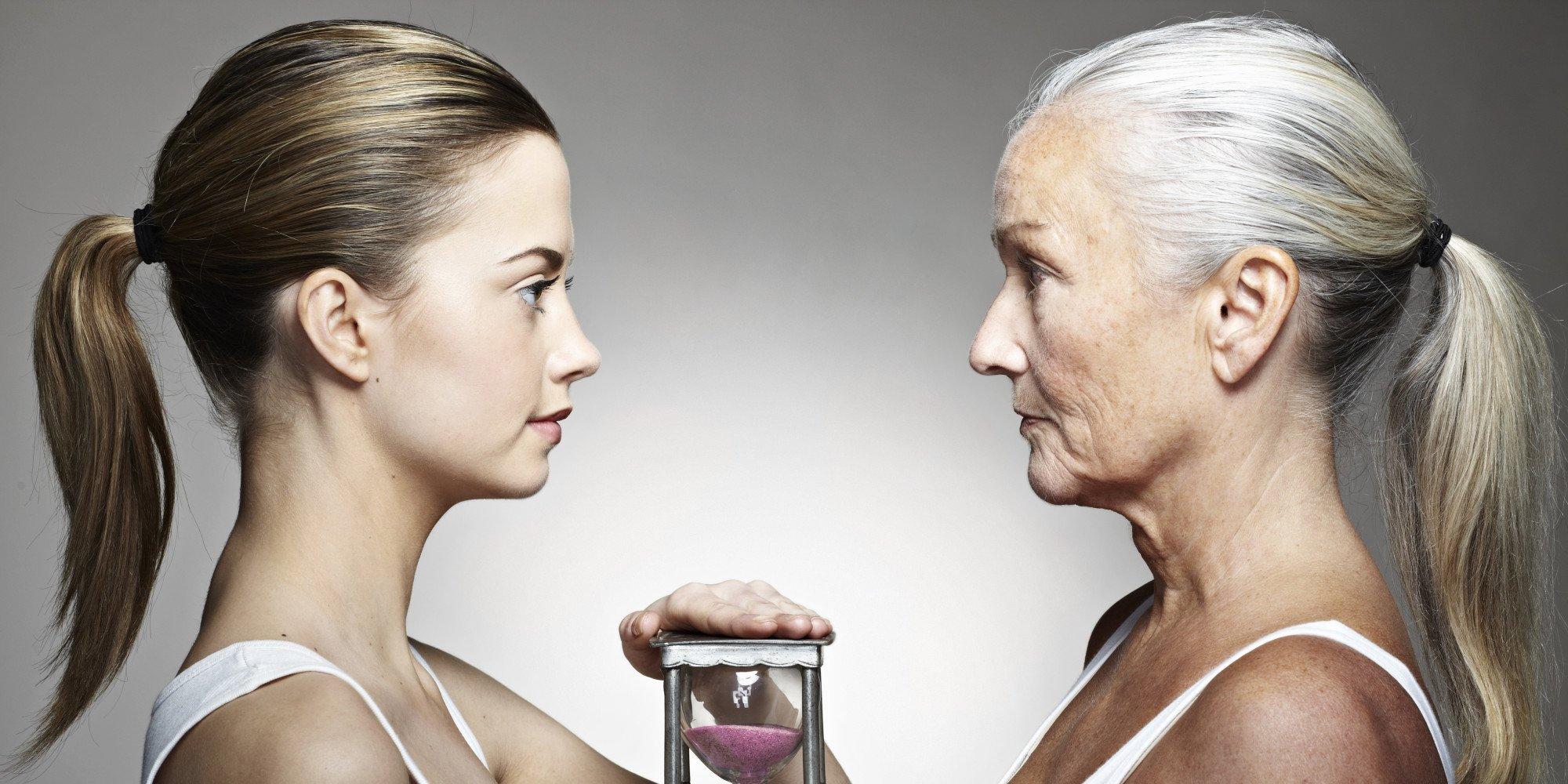 Как стареют женщины