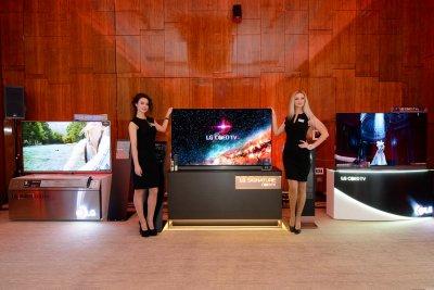 LG представила в России линейку техники 2016 года