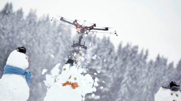 Видео с беспилотником-убийцей с бензопилой покорило YouTube