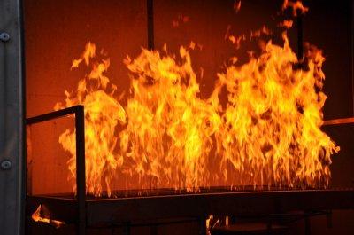 Пожарные спасли из горящей московской квартиры семью