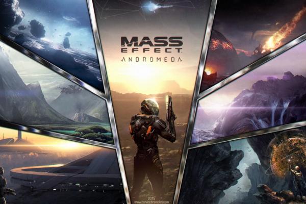 В сеть утекло видео ранней версии Mass Effect: Andromed