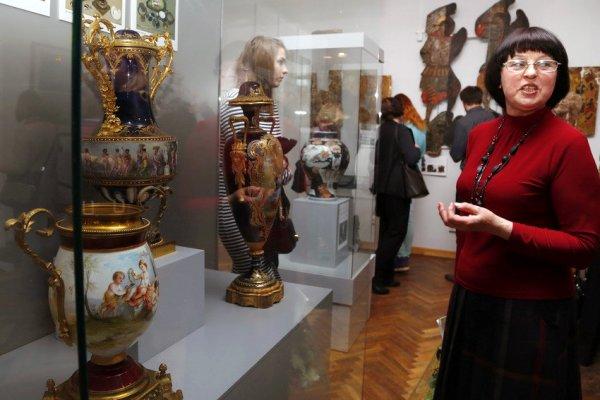 В Смоленске открылась первая выставка реставраторов