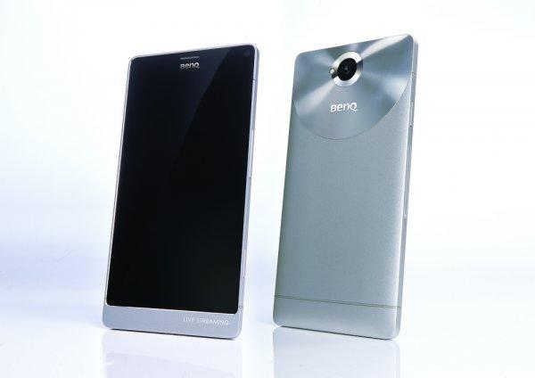 Смартфон BenQ F55 обзавелся новым дизайном и 4К-дисплеем