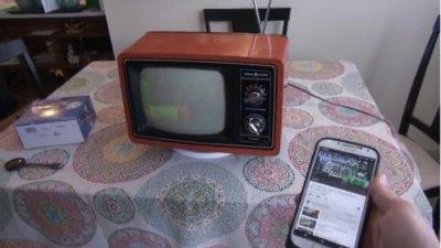 Житель США подключил телевизор 1978 года выпуска к интернету