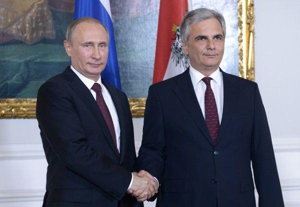 Путин: Сложности не будут помехой для российско-австрийских отношений