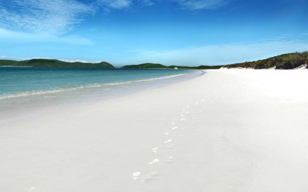 В Австралии 200 метров пляжа ушли под воду