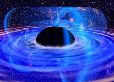 Ученые обнаружили в космической пустоте сверхмассивную черную дыру