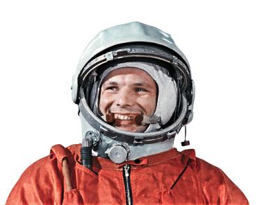 На российских космических ракетах разместят портреты Гагарина