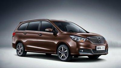 Названа стоимость нового китайского минивэна Haima V70
