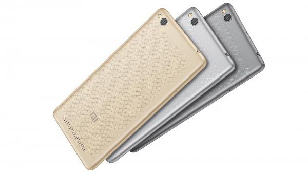 Xiaomi анонсировала 100-долларовый смартфон Redmi 3