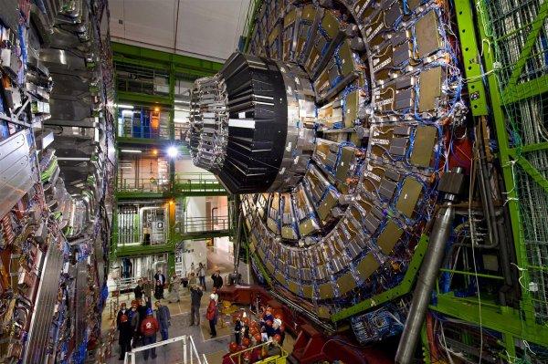 В БАКе произошли первые в этом году столкновения протонов