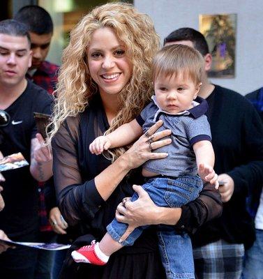 Шакира показала своего подросшего сына Сашу