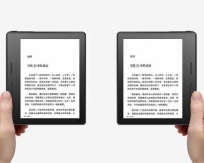 В Сеть попала информация о возможностях Amazon Kindle Oasis