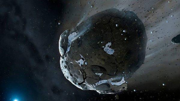 NASA превратит астероид в космический корабль