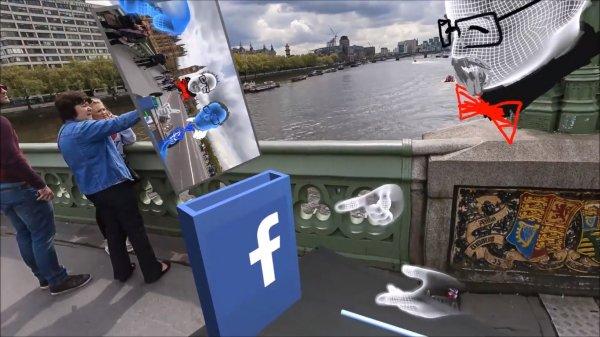Facebook представил устройство для селфи в виртуальной реальности