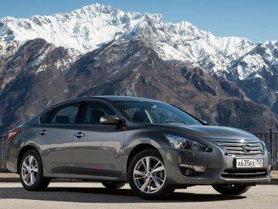 Автомобиль Nissan Teana покидает рынок РФ