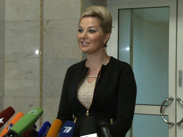 Депутат Государственной думы Мария Максакова родила сына