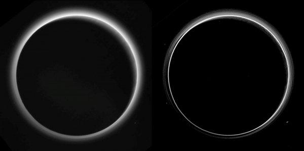 Ученые: Гравитационные волны способный менять яркость атмосферы Плутона