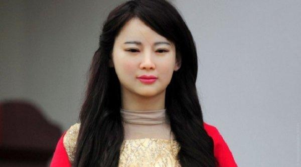 В Китае состоялась презентация суперженщины