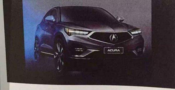"""В сети появились """"живые"""" снимки компактного кроссовера Acura CDX"""