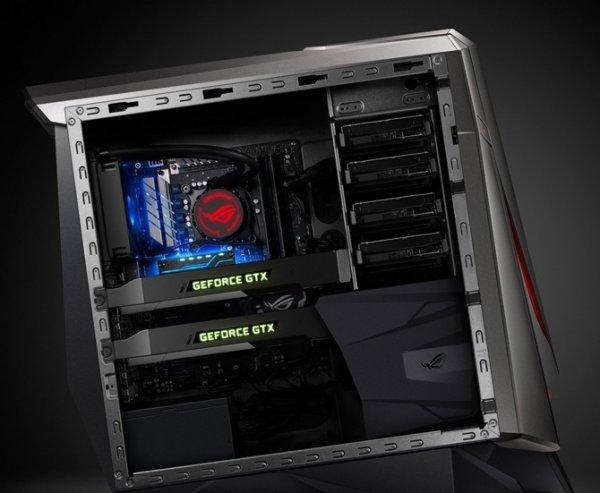 ASUS GT51CA представила игровой ПК с двумя видеокартами GeForce GTX Titan X