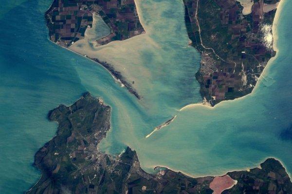 Американский астронавт с МКС показал Керченский пролив