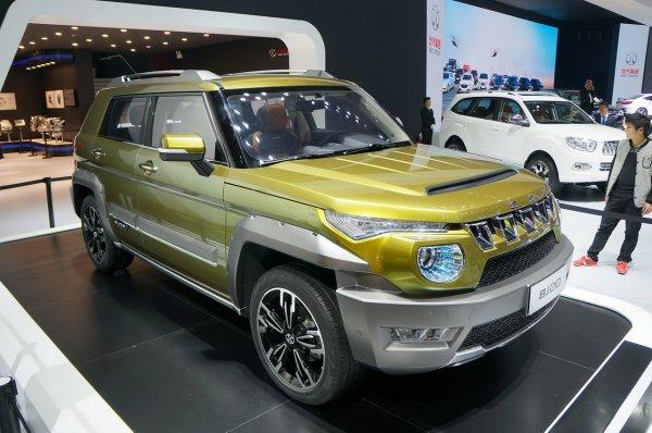 В Пекине состоится дебют компактного кроссовера Beijing Auto BJ20