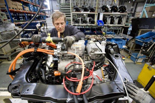 В Клину открыли завод по изготовлению деталей для иностранных автомобилей