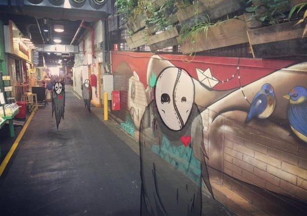 Австралийский художник при мощи iPad и Apple Pensil населяет фото монстрами