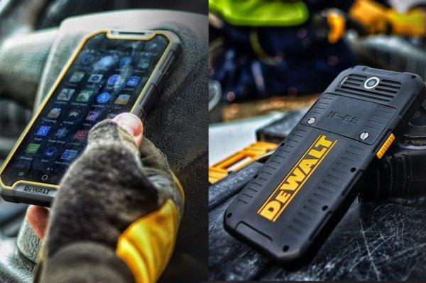 Dewalt представила смартфон повышенной защищенности MD 501