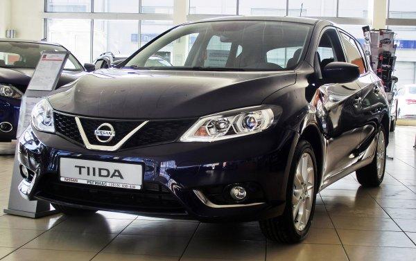 Представлен обновленный хэтчбек Nissan Tiida для авторынка КНР
