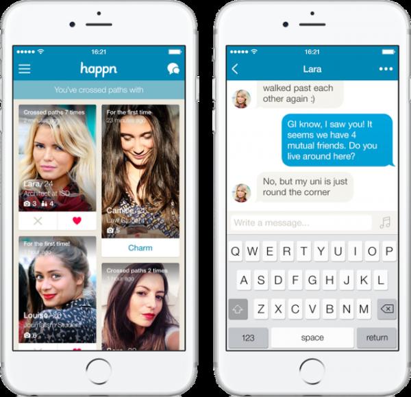 В России запущено приложение для знакомств Happn