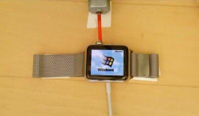 Разработчик сумел внедрить на Apple Watch полноценную версию ОС Windows 95